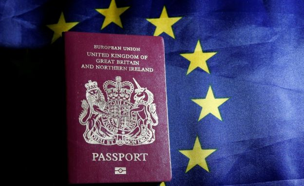 Brexit New Move To Keep Eu Citizenship For Uk Nationals Bbc News