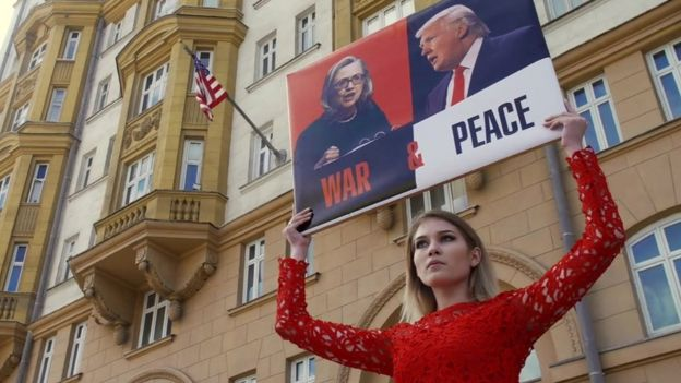 Why Donald Trump strikes a chord with Russians - BBC News