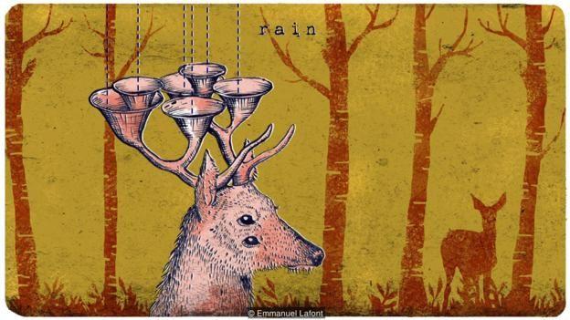 Las astas de un ciervo algún día podrían tener un nuevo propósito.