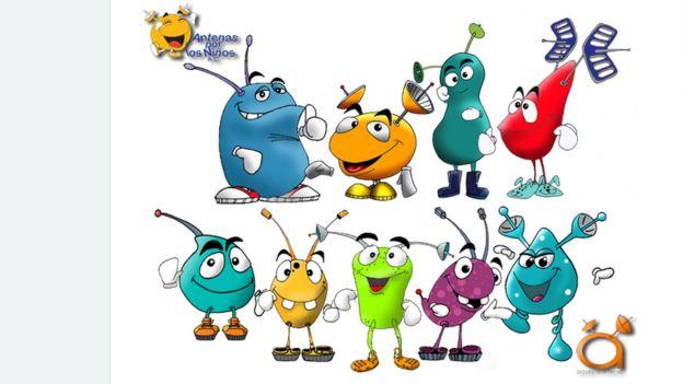 Personajes de Antenópolis, de Antenas por los niños.