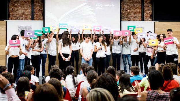 Niños en un programa de educación emocional de la Fundación Botín