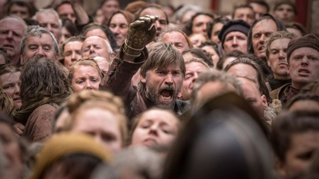 Jaime Lannister en el capítulo 5 de la temporada 8 de Game of Thrones.
