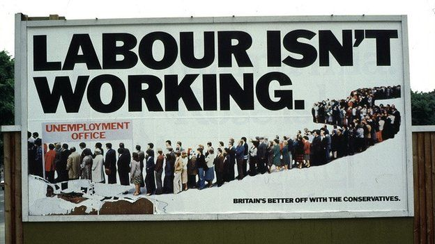Conservative election poster