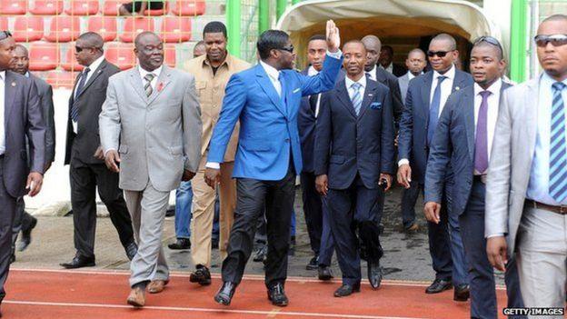 Mwanawe rais Obiang Nguema