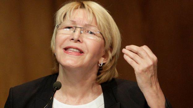 Luisa Ortega, la fiscal general del Estado