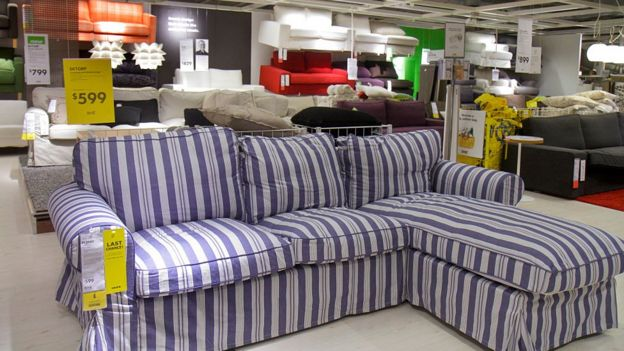 An Ikea Couch