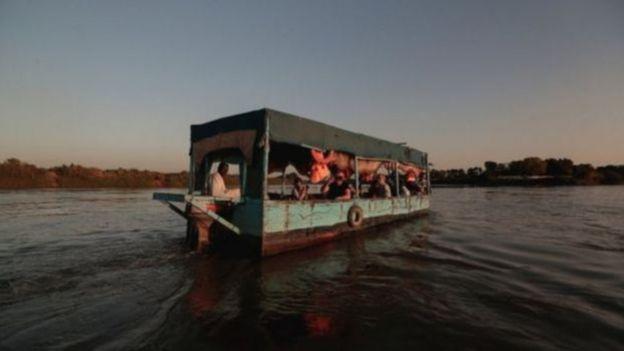تشعر مصر والسودان بالقلق غزاء تدفق نهر النيل في سنوات الجفاف