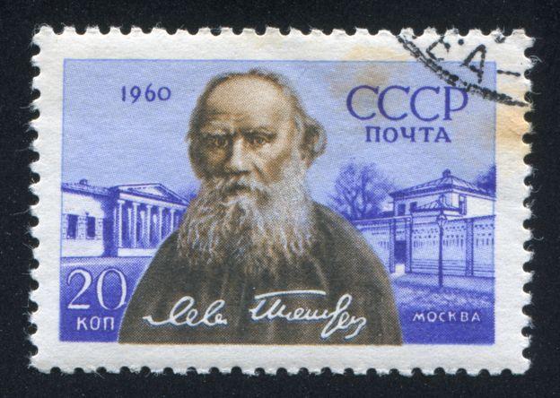Selo com Liev Tolstói, escritor russo