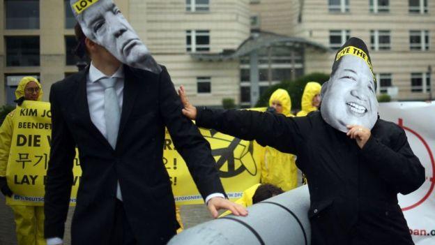 activistas del ICAN.