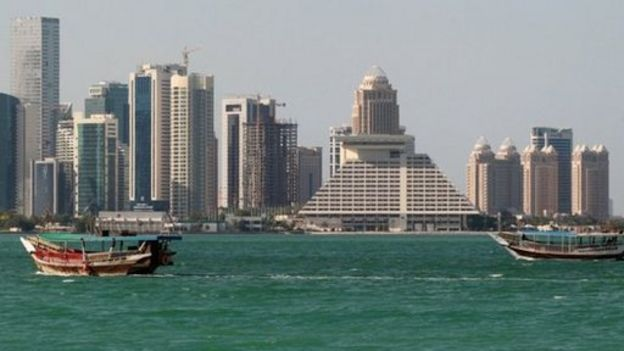Vista de Doha