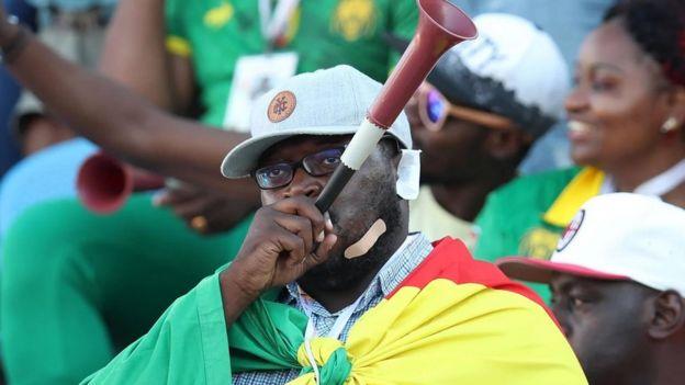 MASHABIKI WA CAMEROON
