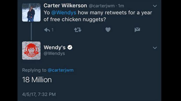 Chicken Nugget Tweet Breaks Twitter Record Bbc News