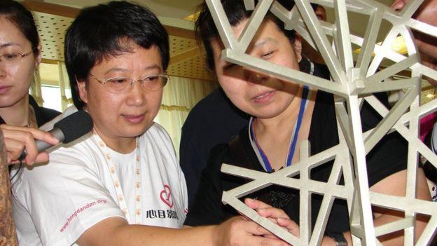 郑晓洁在北京人为盲人开了一家电影院