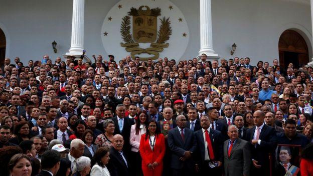 Miembros de la Asamblea Constituyente