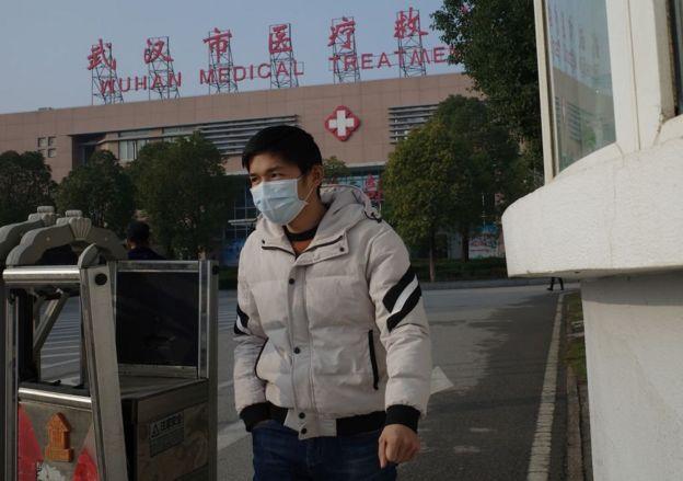 到目前為止,中國報告了41例新型肺炎感染者病例。