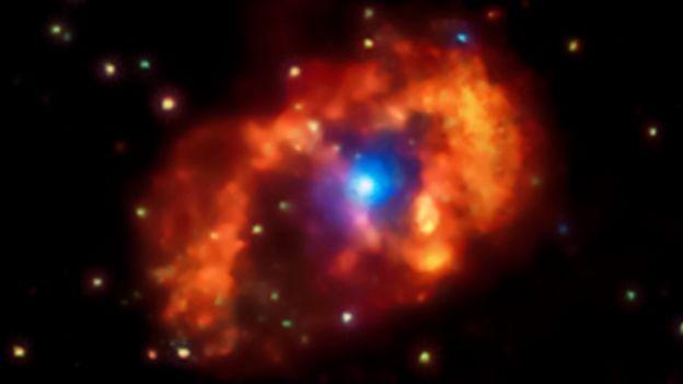 Imagens de raio x da estrela dão pistas sobre seu comportamento