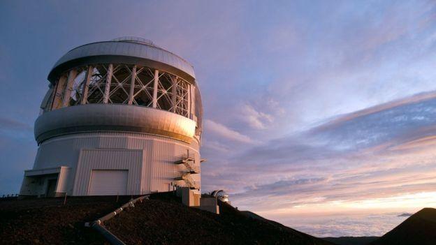 North Gemini Observatory in Hawaii. Photo: SPL