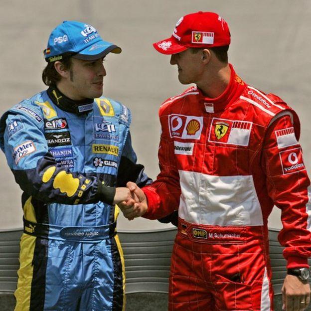 Al año siguiente superó en un épico duelo al alemán Michael Schumacher.