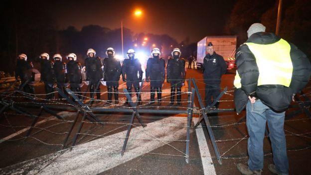 Belçika yakıt protestoları