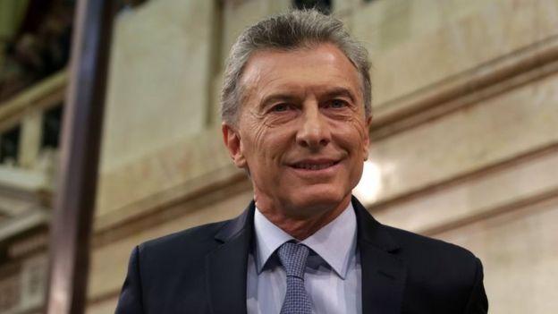 Retrato de Mauricio Macri