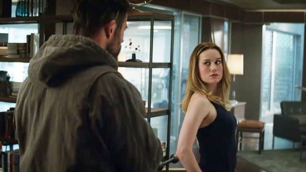 Thor and Captain Marvel