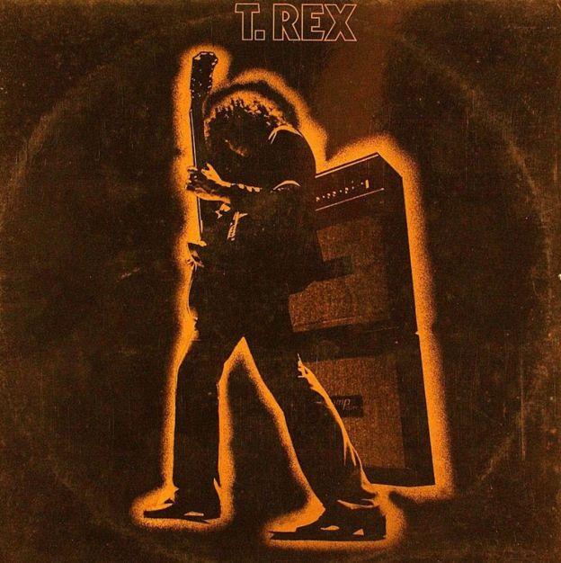 Обложка альбома T. Rex Electric Warrior