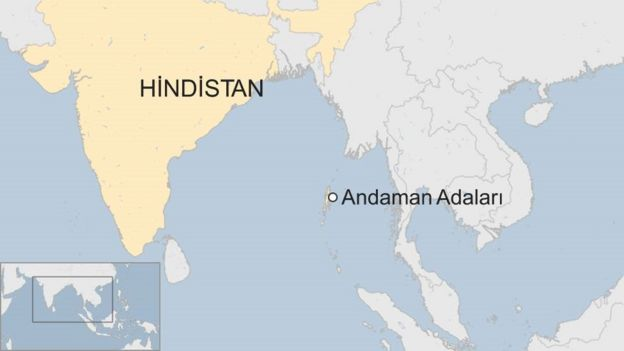Andaman Adası'ndaki yerli kabileler dış dünyadan tamamen izole bir hayat yaşıyor