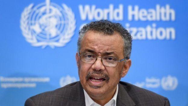 Tedros Adhanom es el director de la OMS.