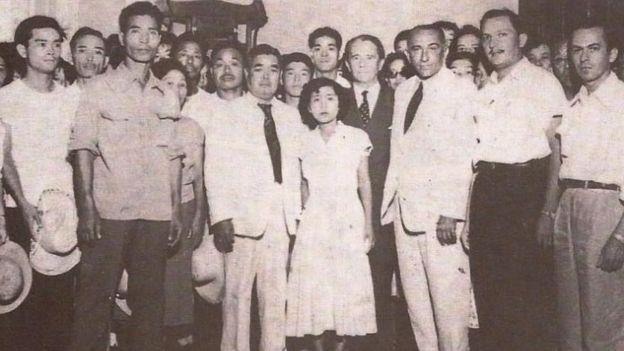 Imigrantes japoneses na década de 1950