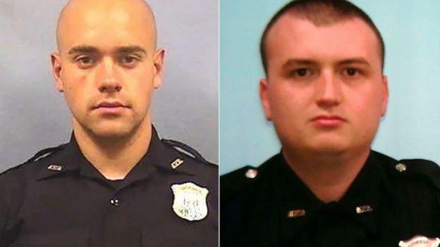 Garrett Rolfe and Officer Devin Brosnan