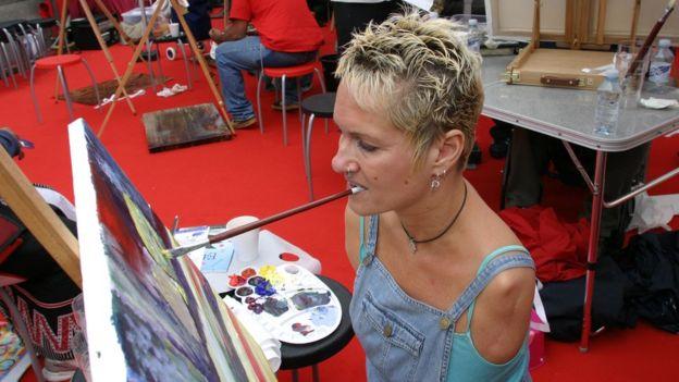 Artist Alison Lapper