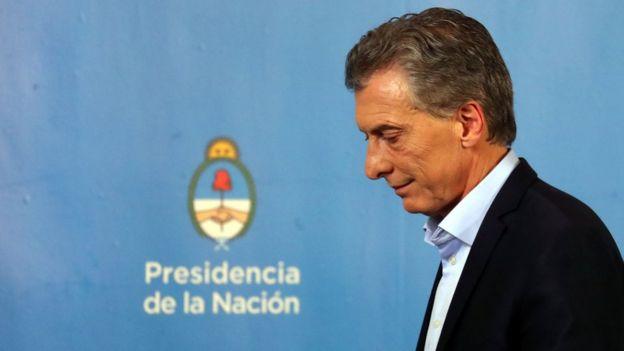 Devlet Başkanı Macri