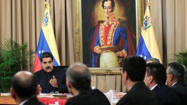 Presidente venezolano, Nicolás Maduro.