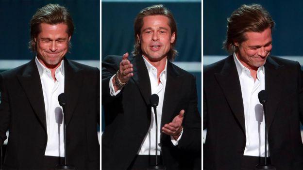 Brad Pitt at the Screen Actors Guild Awards