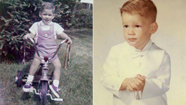 Paul siendo niño