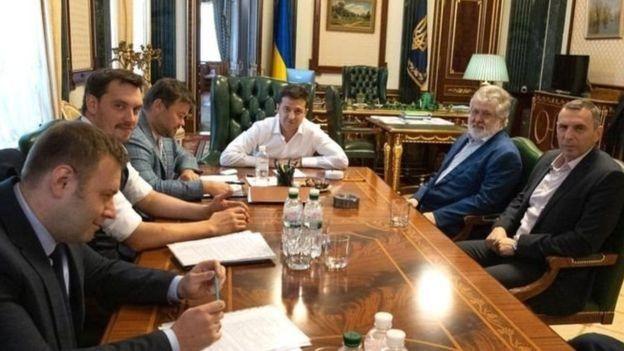 10 вересня Офіс президента опублікував фото зустрічі Володимира Зеленського з Ігорем Коломойським.