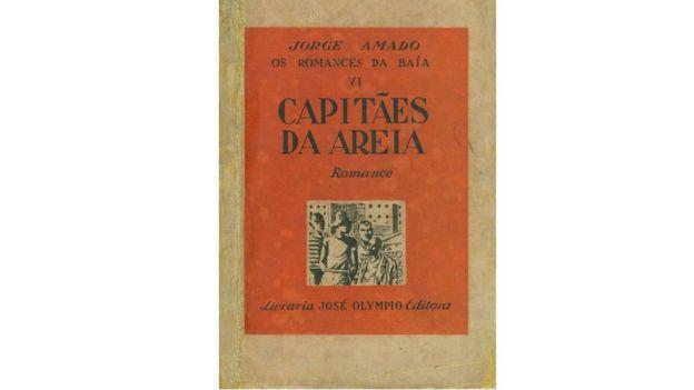 Capa do livro Capitães da Areia