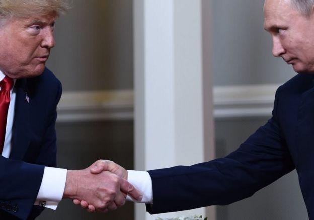 ABD Başkanı Donald Trump ve Rusya Devlet Başkanı Vladimir Putin