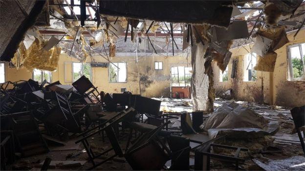 Os ataques não pararam no Afeganistão