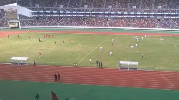 inside the Bingu stadium