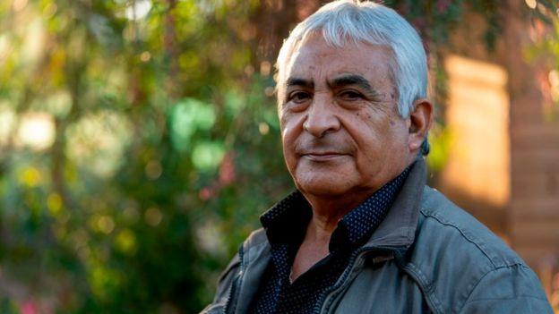 Omar Reygadas, otro de los mineros sobrevivientes.