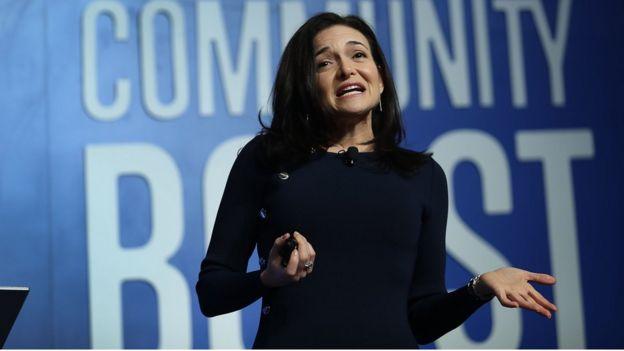 Bà Sheryl Sandberg, Giám đốc phụ trách Hoạt động (COO) của Facebook
