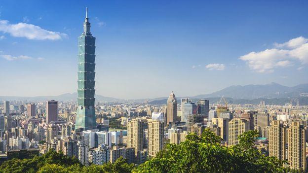 Panorámica de Taipéi