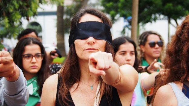 Protesta feminista.