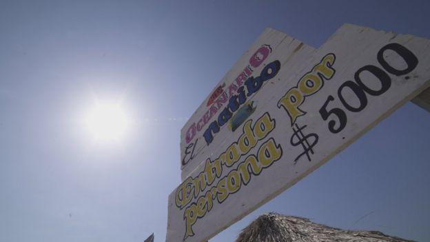 Acuario de Santa Cruz del Islote.
