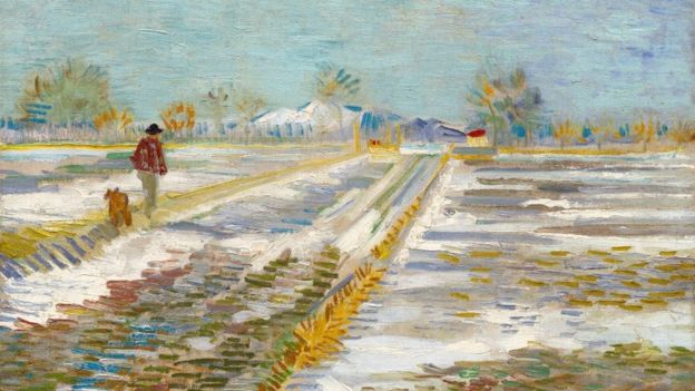 Van Gogh's Landscape With Snow