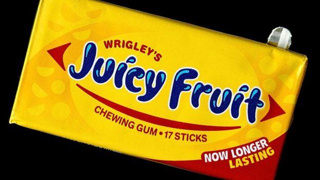 Goma de mascar Joicy Fruit de Wringley's