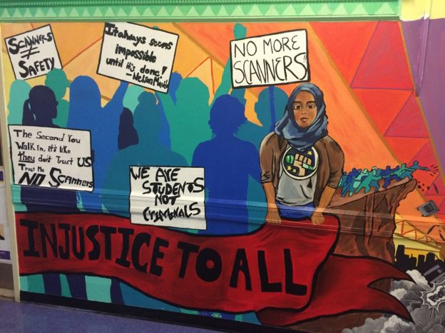 Otro mural en Park Slope