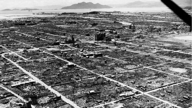 Devastación en Hiroshima