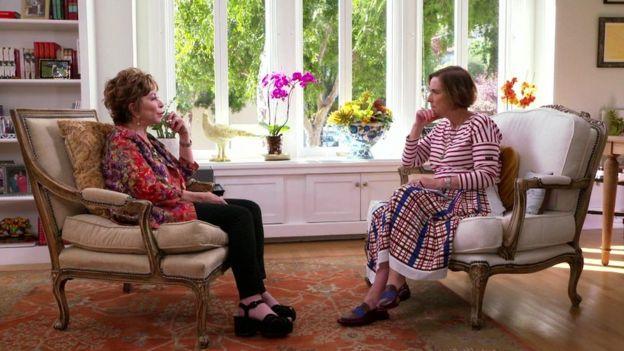 Isabel Allende və Kirsty Wark